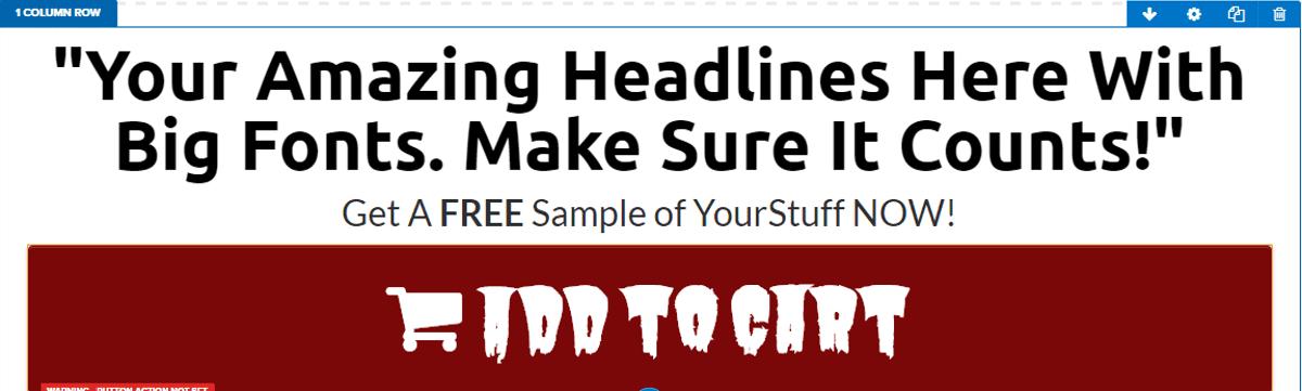 Clickfunnels default font