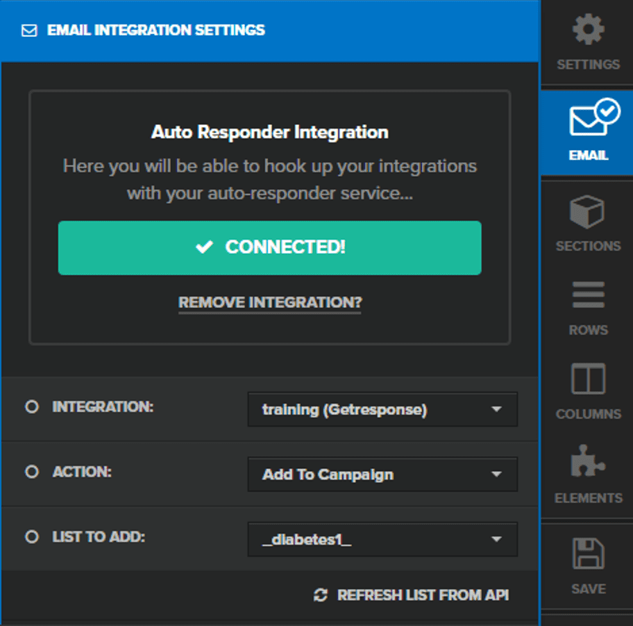 How to Integrate GetResponse with ClickFunnels