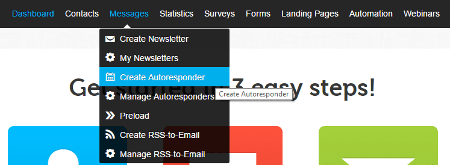 How to Set Up Your Autoresponder in GetResponse