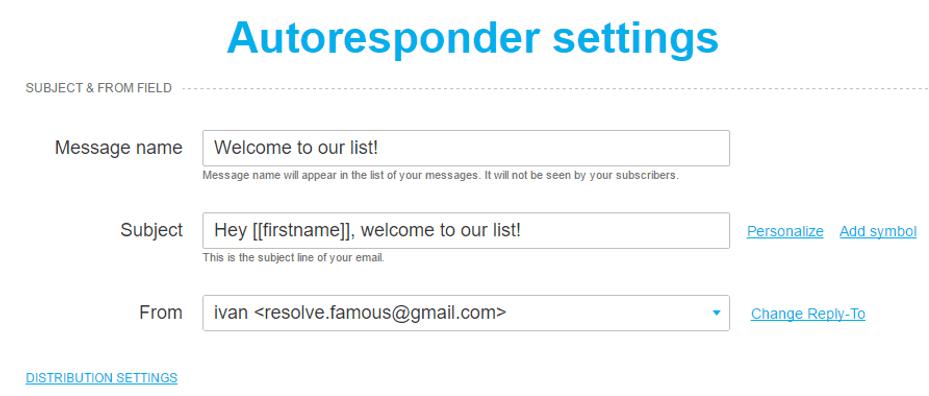 How to Set Up Your Autoresponder on GetResponse